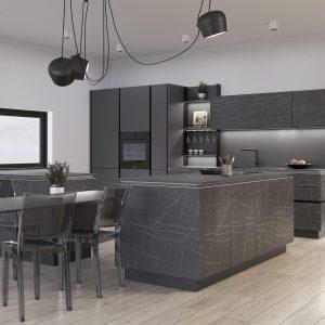 Kuchyňa Pietra Grigia čierna