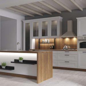 Kuchyňa Provence biela V