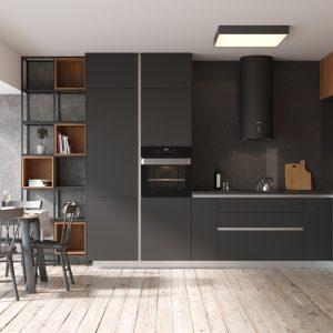 Kuchyňa Evermatt čierna I.