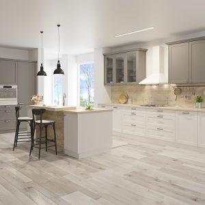 Kuchyňa Provence bielo sivá