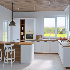 Kuchyňa Provence biela I