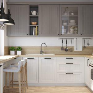 Kuchyňa Evermatt šedá
