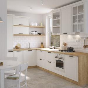 Kuchyňa Provence biela III