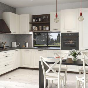 Kuchyňa Provence krémová