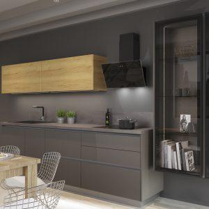 Kuchyňa Akrylát Matt kobaltová