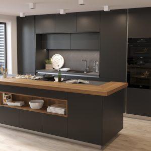 Kuchyňa Evermatt čierna II