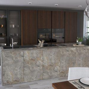 Kuchyňa Dýha a kameň